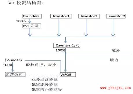 私募股权pe投资中的vie(协议控制)结构的案例分析
